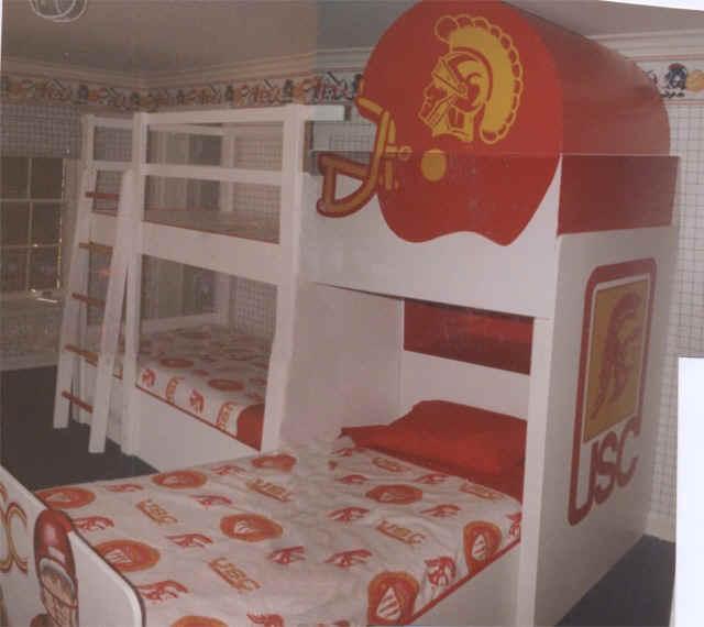 Football Bunk Beds